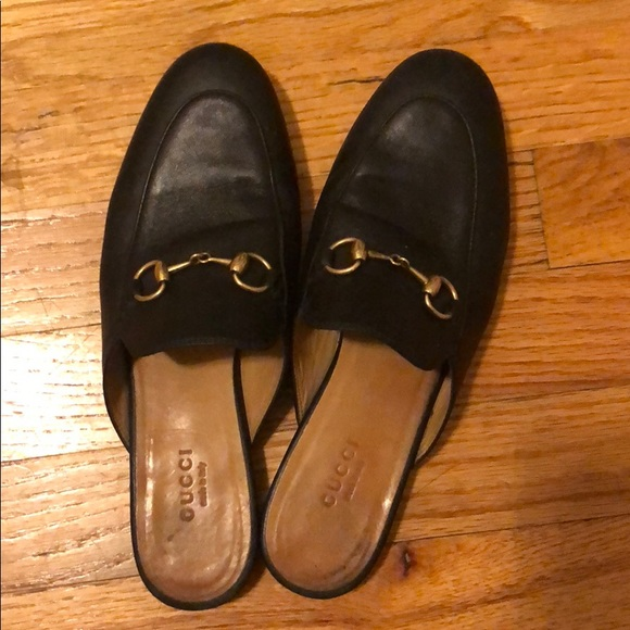 e5440c7b7 Gucci Shoes - Gucci Princetown loafer mules 36.5 Black  695